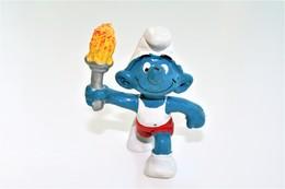 Smurfs Nr 20030#6 - *** - Stroumph - Smurf - Schleich - Peyo - Olympic - Smurfs