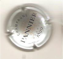 CAPSULE MUSELET CHAMPAGNE  PANNIER  Lettres Noires Sur Argent - Pannier