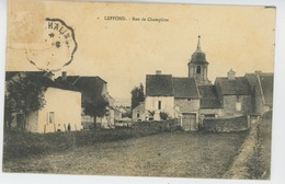 LEFFOND - Rue De Champlitte - Sonstige Gemeinden