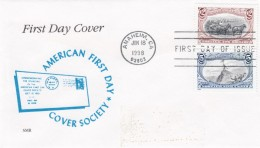 Sc#3209i & #3209d $2 & 5c 1898 Trans-Mississippi Stamp Series Centennial Issue Cover FDC - 1991-2000