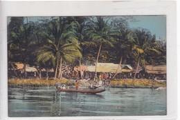 AFRIQUE OCCIDENTALE. VILLAGE AU BORD D'UNE RIVIERE. COLLECTION FORTI. CIRCA 1900's- BLEUP - Senegal