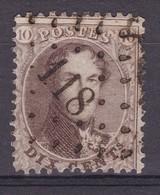 N° 14 A : 118  ETALLE  COBA  +20.00 - 1863-1864 Medallones (13/16)