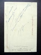Autografo Lucilla Antonelli Calfus Cartolina Postale Anni '30 Scrittrice Milano - Autographes