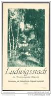 Ludwigsstadt Im Frankenwald 1932 - Faltblatt Mit 15 Abbildungen - Mecklenburg-Vorpommern