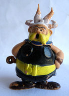 FIGURINE ASTERIX PUBLICITAIRE HUILOR GROSSEBAF Le NORMAND 1967 (2) - Asterix & Obelix