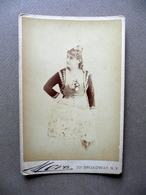 Fotografia L. Bellocci Lirica Barbiere Di Siviglia Foto Mora New York '800 - Foto