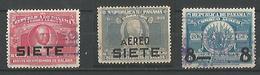 Timbres Pour La Poste Aerienne - Panama