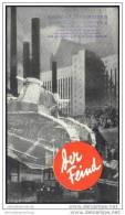 Baden Bei Wien 1932 - Faltblatt Mit 20 Abbildungen - Hotel- Und Gaststättenverzeichnis - Oesterreich