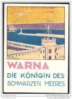 Bulgarien 1931 - Warna 36 Seiten Mit 24 Abbildungen - Stadtplan - Bulgarien
