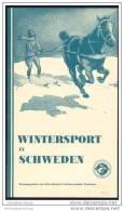 Wintersport In Schweden 1932 - 24 Seiten Mit 17 Abbildungen - Schweden