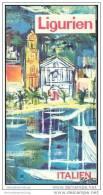 Ligurien 60er Jahre - 56 Seiten Mit über 40 Abbildungen Und Mehreren Karten - Italia