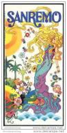 Sanremo 70er Jahre - Faltblatt Mit 16 Abbildungen - Ortsplan - Italia