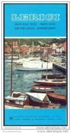 Lerici 60er Jahre - Faltblatt Mit 8 Abbildungen - Italia