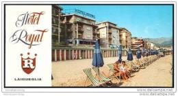 Laigueglia 70er Jahre - Hotel Royal - 8 Seiten Mit 9 Abbildungen - Italia