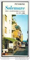 San Bartolomeo Al Mare 70er Jahre - Pensione Solemare - Faltblatt Mit 4 Abbildungen - Italia