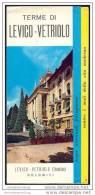 Levico-Vetriolo - Faltblatt Mit 10 Abbildungen - Italia