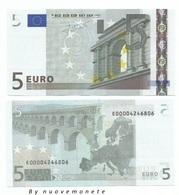 5 EURO  TRICHET E SLOVACCHIA E010.. UNC  E000042.... NUMERAZIONE MOLTO RARA - 5 Euro