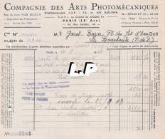 18401-3-0605     1943  ARTS PHOTOMECANIQUES PARIS 15E  - GAREL BAZAR LA BOURBOULE 63 - France