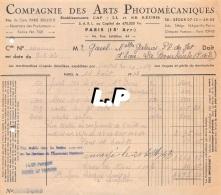 18401-3-0606      1943  ARTS PHOTOMECANIQUES PARIS 15E  - GAREL BAZAR LA BOURBOULE 63 - France