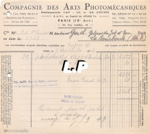 18401-3-0607      1943  ARTS PHOTOMECANIQUES PARIS 15E  - GAREL BAZAR LA BOURBOULE 63 - France