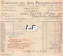 18401-3-0608       1943  ARTS PHOTOMECANIQUES PARIS 15E  - GAREL BAZAR LA BOURBOULE 63 - France