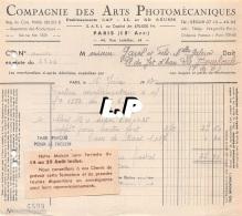 18401-3-0609       1943  ARTS PHOTOMECANIQUES PARIS 15E  - GAREL BAZAR LA BOURBOULE 63 - France