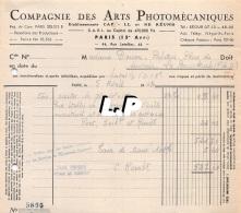 18401-3-0611       1943  ARTS PHOTOMECANIQUES PARIS 15E  - GAREL BAZAR LA BOURBOULE 63 - France