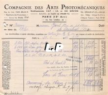 18401-3-0612      1943  ARTS PHOTOMECANIQUES PARIS 15E  - GAREL BAZAR LA BOURBOULE 63 - France