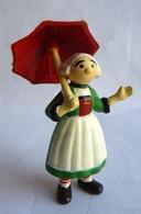 Rare Figurine MINERVE BECASSINE AVEC SON PARAPLUIE Amovible 1972 - PINCHON (1) - Figurines