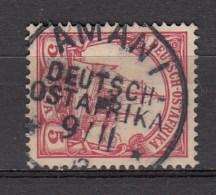 DUITSE KOLONIEN - OOST-AFRIKA  1901  Michel  13   AMANI  , See  Scan ,used/VF   [DK  365  ] - Colonie: Afrique Orientale