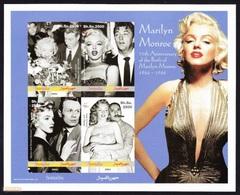 MARILYN MONROE - 75 Th Anniversary Of The Birth Of Marilyn Monroe, Somalia 2001 / Imperf. - MNH - Cinema