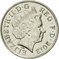 Monnaie, Grande-Bretagne, Elizabeth II, 10 Pence, 2012, British Royal Mint, TTB - 1971-… : Monnaies Décimales