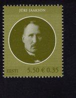 614174860 ESTLAND ESTONIA 2010 ** MNH  SCOTT 631 JURI JAAKSON POLITCIAN - Estonie