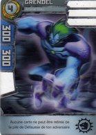 Carte Plastique Redakai Hologramme Grendel - Trading Cards