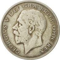Monnaie, Grande-Bretagne, George V, 1/2 Crown, 1928, TB, Argent, KM:835 - 1902-1971 : Monnaies Post-Victoriennes