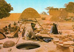 1 AK Nigeria * Das Färben Der Wäsche In Kano - Heute Eine Millionenstadt - Die Viertgrößte Stadt Des Landes * - Nigeria