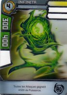 Carte Plastique Redakai Hologramme Infinita - Trading Cards