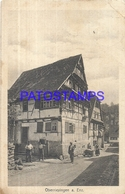 97053 GERMANY OBERRIEXINGEN VIEW STREET & BUILDING POSTAL POSTCARD - Duitsland