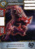 Carte Plastique Redakai Hologramme Froztok - Trading Cards