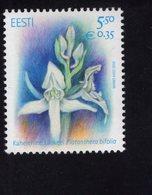 614175988 ESTLAND ESTONIA 2010 ** MNH  SCOTT 636 FLORA FLOWERS PLATANTHER BIFOLIA - Estonie
