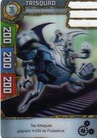 Carte Plastique Redakai Hologramme Trisquad - Trading Cards