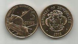 Seychelles 5 Cents  2016. - Seychelles