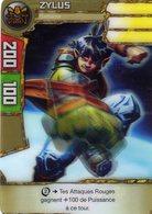 Carte Plastique Redakai Hologramme Zylus - Trading Cards