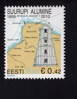 614176987 ESTLAND ESTONIA 2010 ** MNH  SCOTT 641 642 LIGHTHOUSES - Estonie