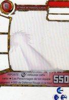 Carte Plastique Redakai Hologramme Attaque De Faisceau Glacial - Trading Cards