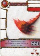 Carte Plastique Redakai Hologramme Masque De Magma - Trading Cards