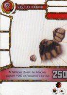 Carte Plastique Redakai Hologramme Coup De Rocher - Trading Cards