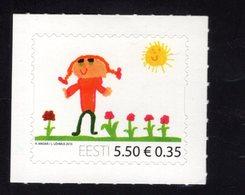 614178319 ESTLAND ESTONIA 2010 ** MNH  SCOTT 647 INTL CHILDREN S DAY - Estonie