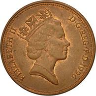 Monnaie, Grande-Bretagne, Elizabeth II, 2 Pence, 1996, TB, Copper Plated Steel - 1971-… : Monnaies Décimales