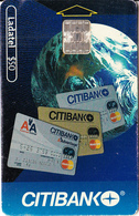 MEXICO - Citibank Cards, 06/01, Used - Mexico